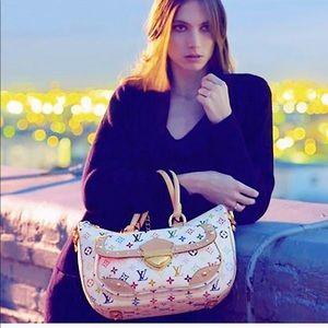 AUTH LOUIS VUITTON Rita MultiColor Monogram Bag